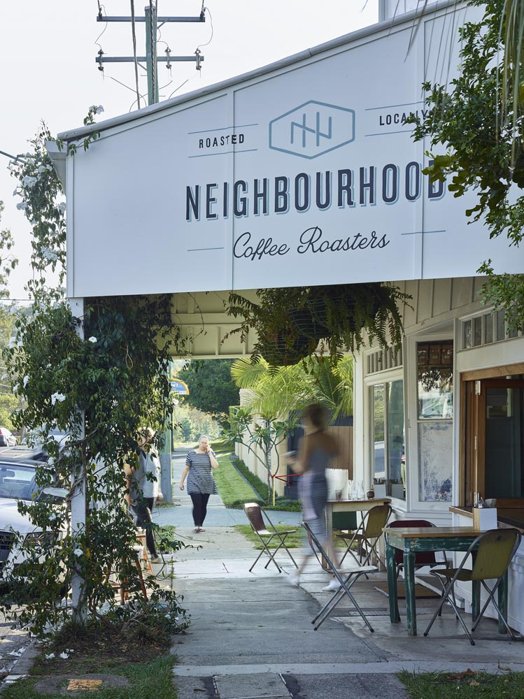 Neoighbourhood Coffee Roasters by ARCKE